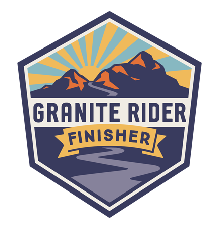 Granite Rider-Finisher-Sticker