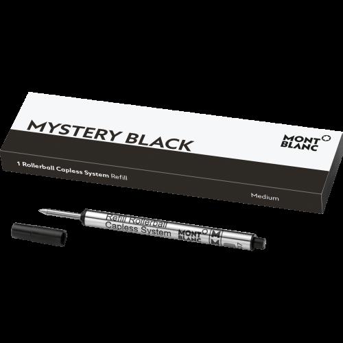 1 Montblanc Rollerball Capless System Mine (M) Mystery Black