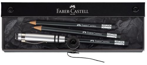 Faber-Castell Set 'Perfekter Bleistift' schwarz