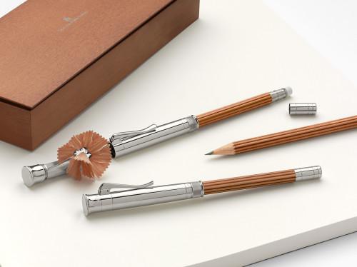 Graf von Faber-Castell 'Perfekter Bleistift' braun/platiniert