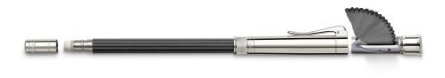 Graf von Faber-Castell 'Perfekter Bleistift' schwarz/platiniert
