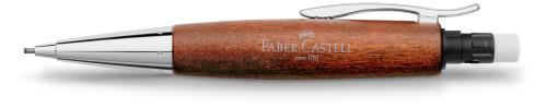 Faber-Castell E-MOTION Holz braun/Metall glanz Bleistift