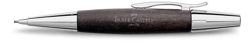 Faber-Castell E-MOTION Holz schwarz/Metall glanz Bleistift