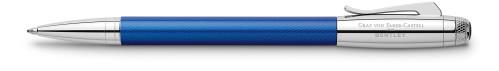 Graf von Faber-Castell Bentley sequin blue Kugelschreiber