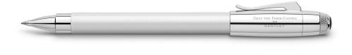 Graf von Faber-Castell Bentley white satin Tintenroller