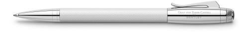 Graf von Faber-Castell Bentley white satin Kugelschreiber