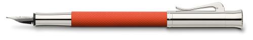 Graf von Faber-Castell Guilloche orange Füllhalter