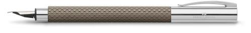 Faber-Castell AMBITION Edelharz Sand black Füllhalter
