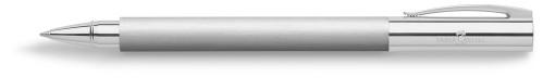 Faber-Castell AMBITION Edelstahl Roller