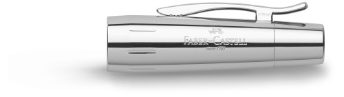 Faber-Castell E-MOTION Holz braun/Metall glanz Roller