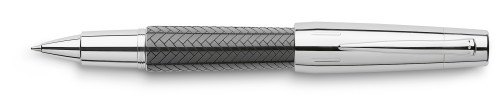 Faber-Castell E-MOTION Edelharz schwarz/Parkett Roller