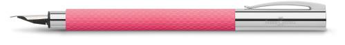 """Faber-Castell AMBITION OpArt """"Pink Sunset"""" Füllhalter"""