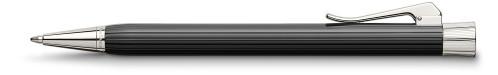 Graf von Faber-Castell Intuition schwarz kanneliert Drehkugelschreiber