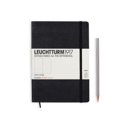 Leuchtturm Medium A5 Softcover schwarz