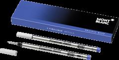 2 Montblanc Fineliner-Minen Pacific Blue