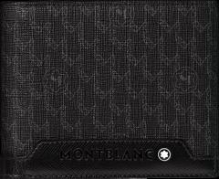 Montblanc Nightflight Signature Brieftasche 6 cc mit 2 Sichtfächern