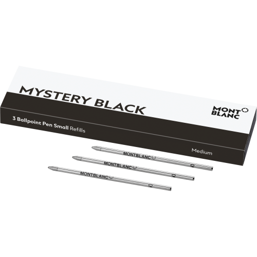 3 Montblanc Kugelschreiberminen Hommage à W. A. Mozart Mystery Black