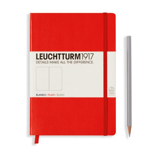 Leuchtturm Medium A5 Hardcover rot