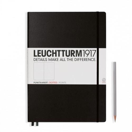 Leuchtturm Master A4+ Hardcover schwarz