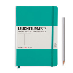 Leuchtturm Medium A5 Hardcover smaragd