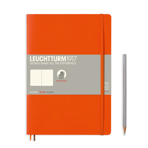 Leuchtturm Composition B5 Softcover orange