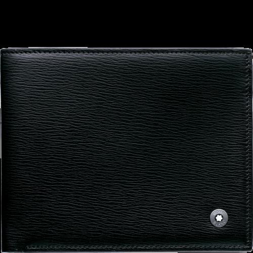 Montblanc 4810 Westside Brieftasche 6 cc mit 2 Sichtfächern