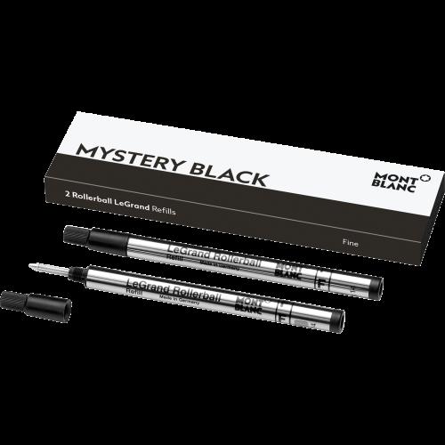 2 Montblanc LeGrand Rollerball-Minen (F) Mystery Black