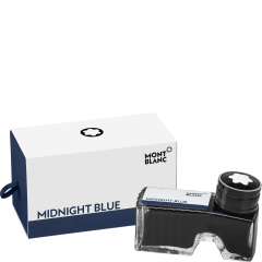 Montblanc Tintenfass Midnight Blue, 60 ml