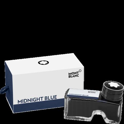 Montblanc Tintenfass Midnight Blue, 60 ml
