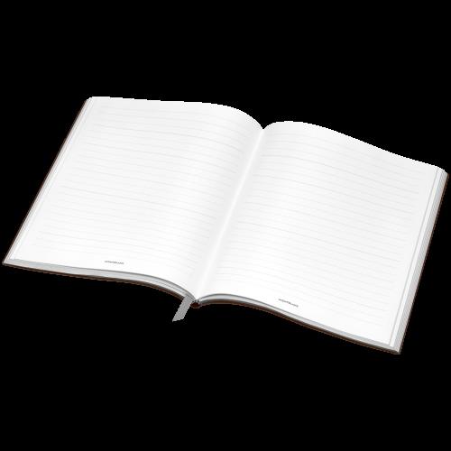 Montblanc Fine Stationery Sketch Book #149 Tobacco, liniert