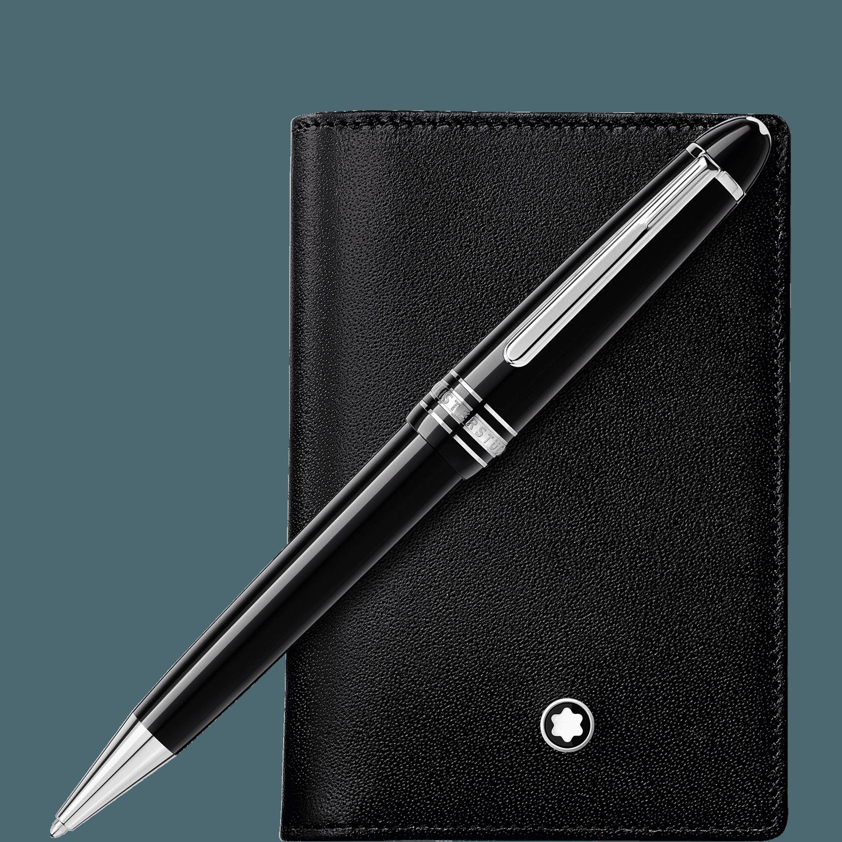 Set Aus Meisterstück Midsize Kugelschreiber Und Meisterstück Visitenkartenetui