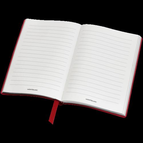 Montblanc Fine Stationery Notebook #148 Red, liniert