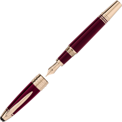 Montblanc Great Characters John F. Kennedy Special Edition Burgundy Füllfederhalter