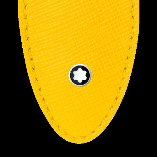 Montblanc Sartorial Etui für 1 Schreibgerät gelb
