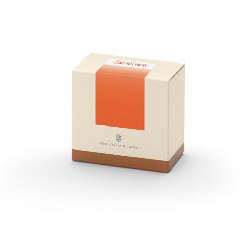 Graf von Faber-Castell Tinte im Glas - orange