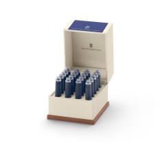 Graf von Faber-Castell Tintenpatronen in Geschenketui - blau