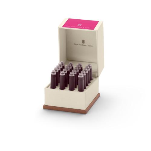 Graf von Faber-Castell Tintenpatronen in Geschenketui - pink