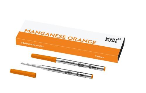 Montblanc Kugelschreibermine manganese orange