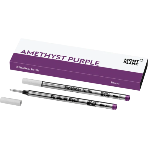 schreibkultur-montblanc-111433-2 fineliner refills (B)-amethyst purple
