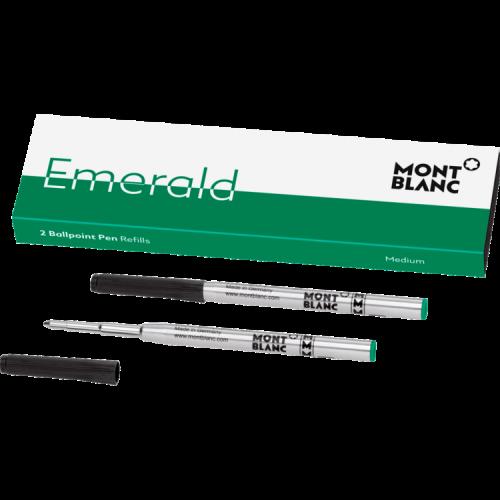 schreibkultur-montblanc-118126-2 ballpoint pen-refill-emerald green