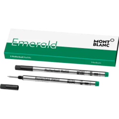 schreibkultur-montblanc-118127-2 rollerball refills-(M) emerald green