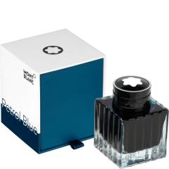 schreibkultur-montblanc-119569 - Ink Bottle, petrol blue