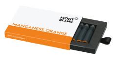 Montblanc Tintenpatronen orange