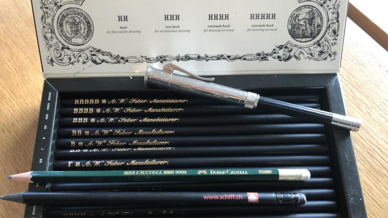 Schreibkultur Blog3 Bleistifte Faber-Castell