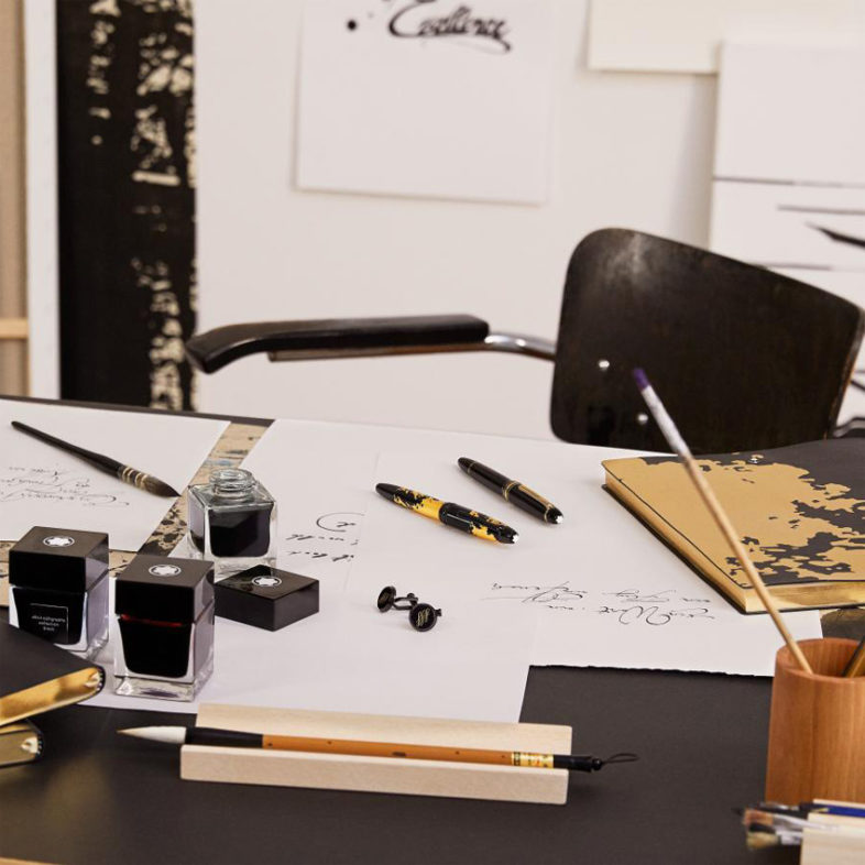 Montblanc Calligraphy felxible Feder