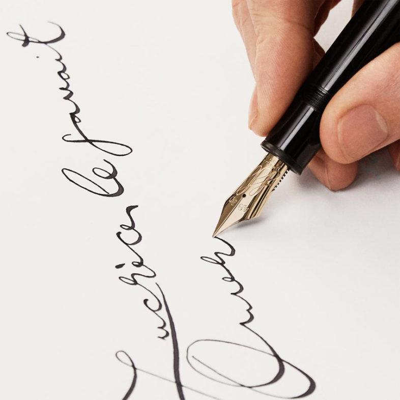 Montblanc Calligraphy dynamisches Schriftbild