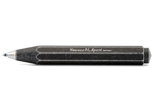 Kaweco AL Sport Kugelschreiber stonewashed schwarz