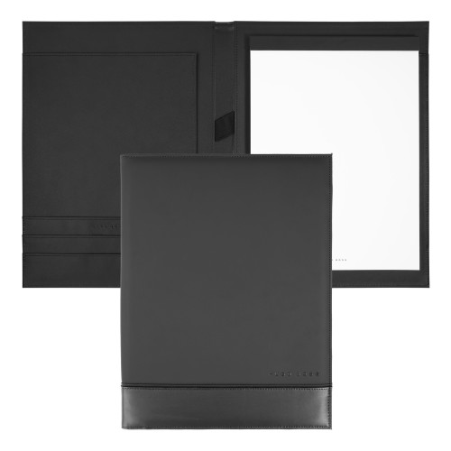 Hugo Boss Schreibmappe A4 Explore Brushed grey