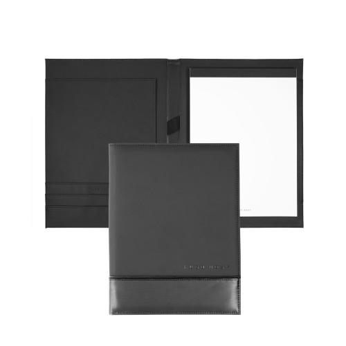 Hugo Boss Schreibmappe A5 Explore Brushed grey