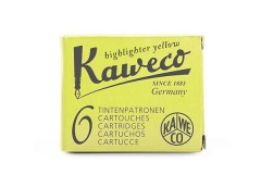 Kaweco Tintenpatronen gelb fluo